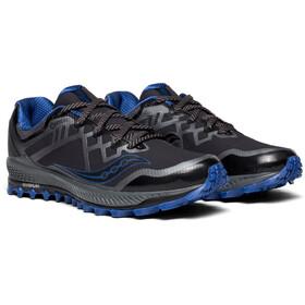 saucony Peregrine 8 GTX Shoes Men black/grey/blue